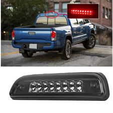 Smoked Housing Red LED 3rd Third Brake LED Light for 95-17 Toyota Tacoma Truck