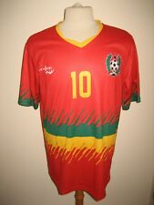 Guinea-Bissau NUMBER 10 home CAF football shirt soccer jersey maillot size XL