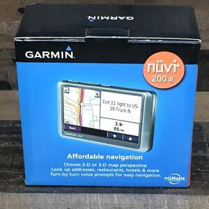 Garmin - nuvi 200W Portable GPS 010-00656-10 *Made In 2009* Unused* Open-Box*