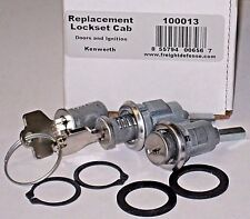 *NEW* SET of KENWORTH KEYED ALIKE DOOR LOCKS & IGNITION ~ REPLACEMENT FOR 30GN15