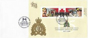 CANP084) Cover Canada 1998, 125th Anniversary of the Royal Canadian Mounted Poli