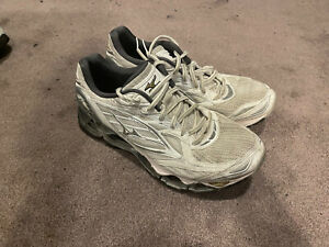 Mizuno Wave Prophecy 6 Men's Size US10 White Silver Running Shoes