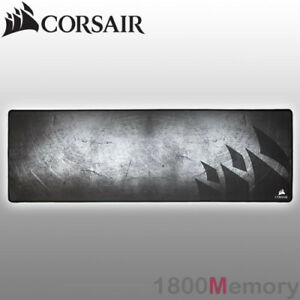 Corsair Gaming MM300 Anti-Fray Cloth Mouse Pad Mat Extended Natural Rubber Black
