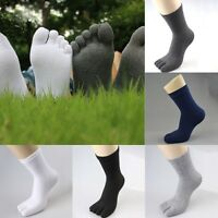 Men and Women Cozy Cotton Ankle Boat Socks Sport Five  Sock Toes Finger Causal