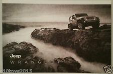 2012 Jeep Wrangler JK Full Colour Brochure Mint Details On Rubicon & Overland