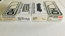 Ho Scale Tichy Train Group Flat Cars and Loads Lot