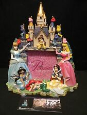 Disney Parks Authentic Princess Castle Photo Picture Frame 3D Fully Sculpted