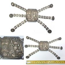 Interesting old RASTRA gaucho cowboy silverplated GAUCHO ARGENTINE belt kids ?