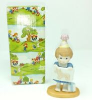 Enesco Country Cousins Polly with Pin The Tail Game 409367