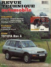 Revue Technique Automobile - Toyota RAV 4 - Essence - N° 597 - Ed Juillet 1997