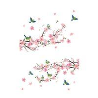 3D Sticker Mural Maison De L'artiste DÉCoration Graphique Fleur PÉTale Arbr P2O8
