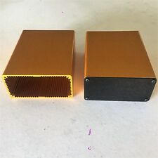 "Aluminum Project box, Enclosure 2""X4""X5"" Model # GK4-5 Gold Color"