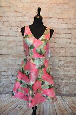 Modcloth Belle Me Everything Dress NWT $130   Sz 4 A-line Floral party dress