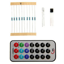IR 0038B Remote Control Transmitter Infrared Receiver Controler & 10K Resistor
