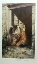whiskey farmyard cat david shepherd limited edition