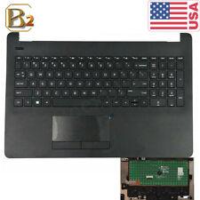 New HP 15-BS 15-BW Black Palmrest & Keyboard & Touchpad Trackpad 925008-001 US