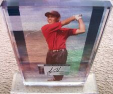 Tiger Woods signed autographed 2002 floating 8x10 golf photo acrylic plaque UDA