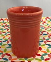 Fiestaware Persimmon Tumbler Fiesta Retired Orange Small 6.5 oz Cup