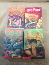 Harry Potter Boxed Set Of Four Books In Slipcase