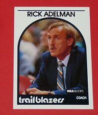 # 291 RICK ADELMAN TRAILBLAZERS PORTLAND 1989 NBA HOOPS BASKETBALL CARD