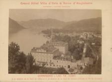 Italie, Cernobbio-Lac de Como, Grand hôtel villa d'Esta & Reine d'Angl