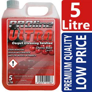 Carpet Shampoo Cleaner,5ltr, Very Cherry,Vax, Rugdoctor, Karcher, Prochem
