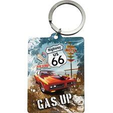 SCHLÜSSELANHÄNGER 47023 - ROUTE 66 - RED CAR GAS UP - 6 x 4,5 cm - NEU