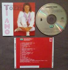 CD UMBERTO TOZZI Ti Amo TV SORRISI E CANZONI italy no lp mc dvd(IT1)