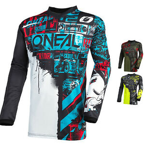 Oneal Element Ride 2021 Motocross Jersey MX Bike Dirt Bike Race Shirt O Neal