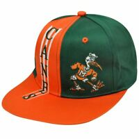NCAA Miami Hurricanes Drew Pearson Vintage Deadstock Twin Towers Snapback Hat