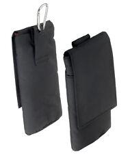 Vertikaltasche Etui für Samsung Galaxy S4 Case Tasche Schutz Hülle schwarz black