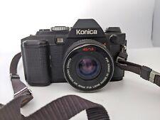 KONICA FS-1 35 mm SLR Film Camera - 40 mm F1.8 Hexanon AR Lens - not tested
