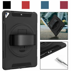 For iPad Pro 12.9 1st /2nd / 3rd Gen 2018 2017 2015 Shockproof Strap Case Cover