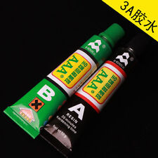 A+B Epoxy  Glue Adhesive 10g + Spatula Strong Ceramic Glass Rubber Metal DIY