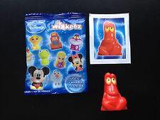 REWE Disney wikkeez Figur Nr. 30 Sebastian a. Arielle + Sticker NEU & unbespielt