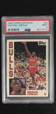 1992-93 Topps Archives Michael Jordan #52 PSA 9 MINT Retro Chicago Bulls