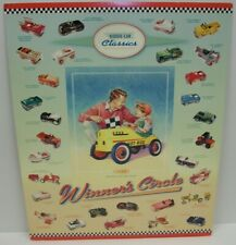 Vintage Garton & Murray Kiddie Pedal Car Classics Hallmark Display Poster Sign