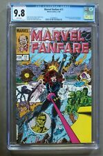 MARVEL FANFARE #11 first IRON MAIDEN Thunderbolts 1983 Black Widow Movie CGC 9.8