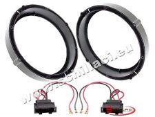 Adattatori altoparlanti Casse 165 mm +  per VolksWagen VW Touran / Tiguan portie
