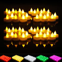 Flameless LED Electronic candle Flickering Tea Light Battery Valentine Wedding