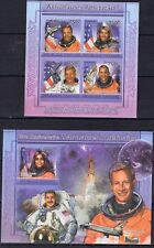Togo 2011 - Spaces Shuttle Melroy Chawla Ferguson - imperf.  stamps  - MNH**  B2