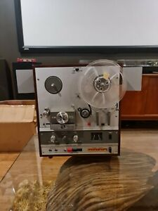 Akai X-1800SD reel to reel and 8 track tape recorder