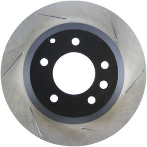 Disc Brake Rotor-Sport Slotted Brake Disc Rear Left Stoptech 126.33078SL