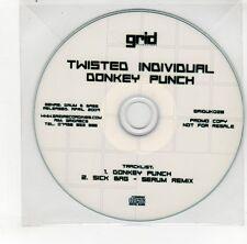 (GO173) Twisted Individual, Donkey Punch - 2009 DJ CD