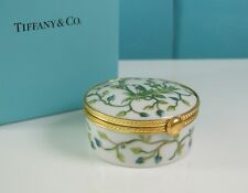 Tiffany & Co Atelier Le Tallec Hinged Private Stock Siam Vert Trinket Box France