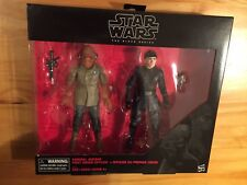 "Hasbro STAR WARS Black Series 6"" ADMIRAL ACKBAR & FIRST ORDER OFFICER set TRU"