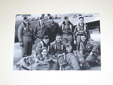 Test Pilot ROBERT THACKER Signed 4x6 Photo AIR FORCE AUTOGRAPH 1D
