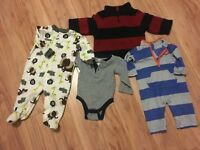 Boy's Mixed Clothing Lot Size 6-12 Months Athletics Dept. Old Navy & Carters