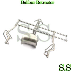 BALFOUR RETRACTOR LARGE GYNO SURGICAL INSTRUMENTS NEW