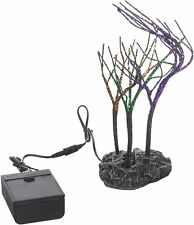 Department 56 Halloween Collections Lit Spooky Sparkle Trees Figurine Village